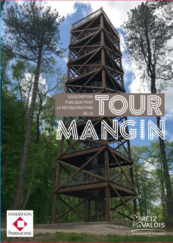 Souscription publique pour la reconstruction de l'Observatoire du Général Mangin